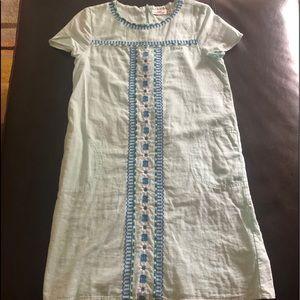 Vineyard Vines blue girls dress